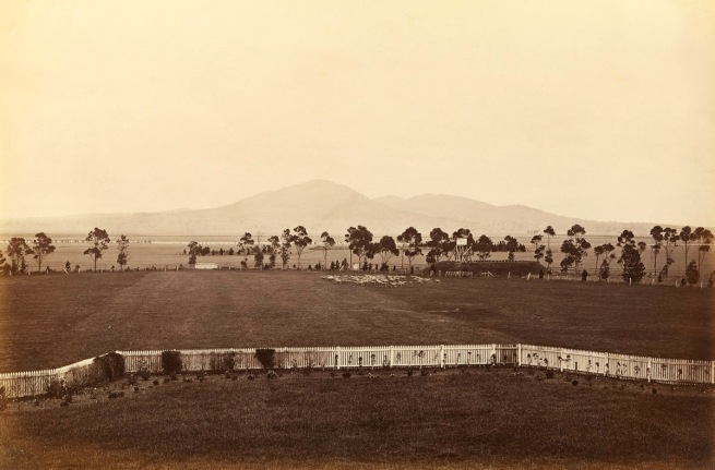 Fred Kruger. 'A view of the You Yangs, from Lara Plains' c. 1882
