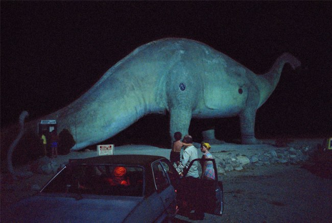 Wim Wenders. 'Dinosaur and Family, California' 1983