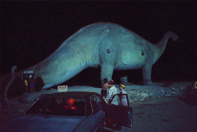 Wim Wenders. 'Dinosaur and Family, California' 1983