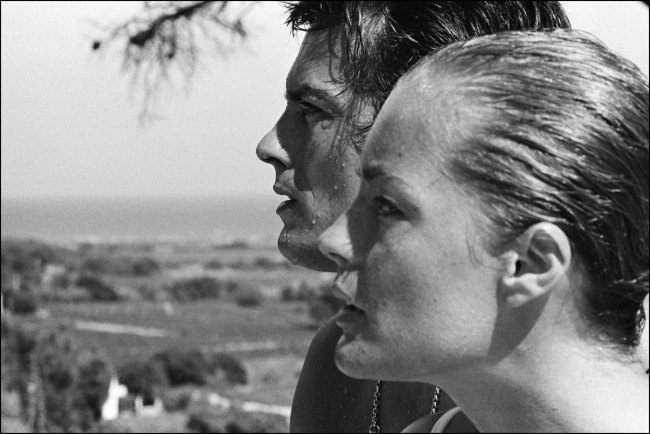 Jean-Pierre Bonnotte. 'Romy Schneider (with Alain Delon)' Nd