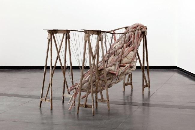 Berlinde De Bruyckere. 'Inside me III' 2012
