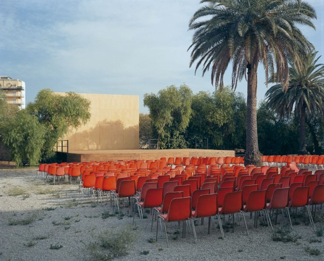 Wim Wenders. 'Open Air Screen, Palermo' 2007