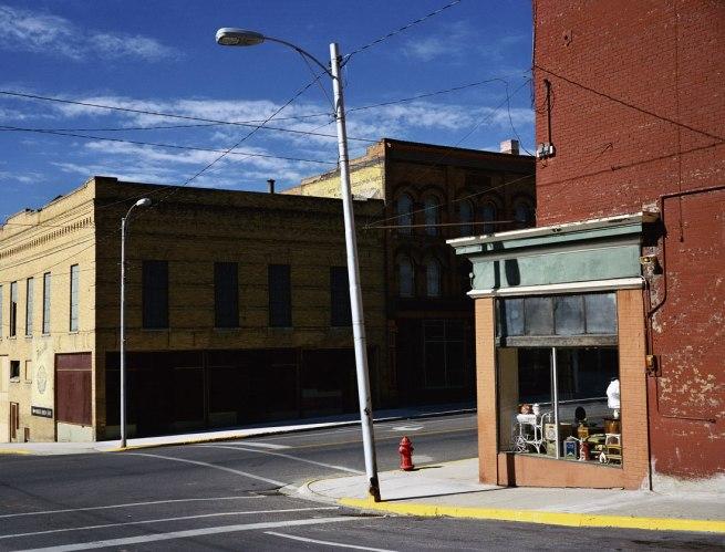Wim Wenders. 'Street Corner Butte, Montana' 2003