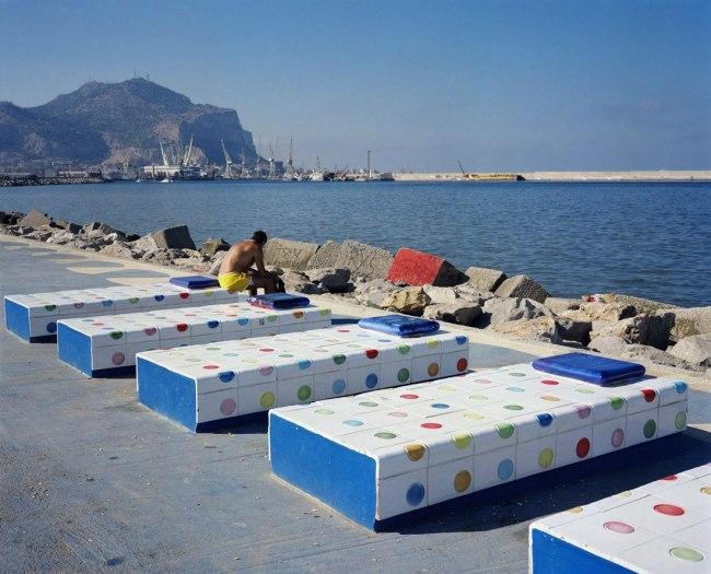 Wim Wenders. 'Sun Bather, Palermo' 2007