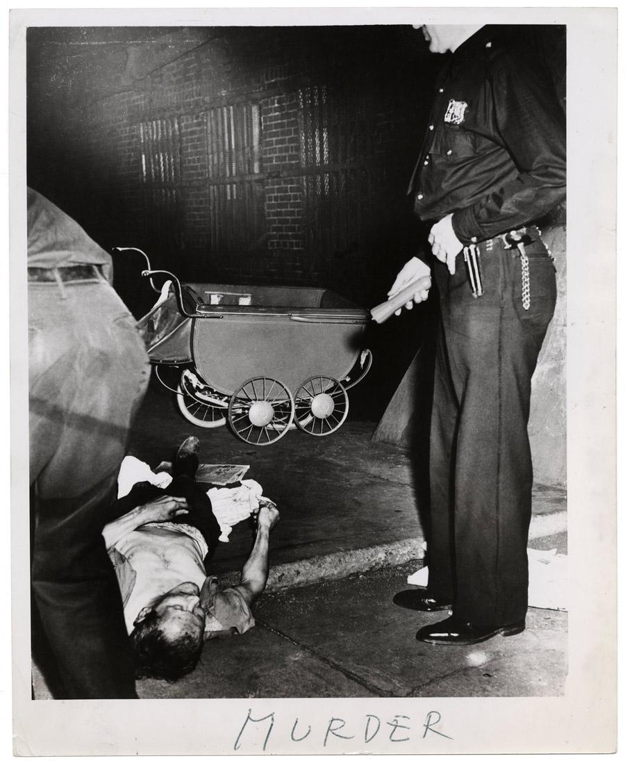 Weegee. 'Murder' ca. 1940