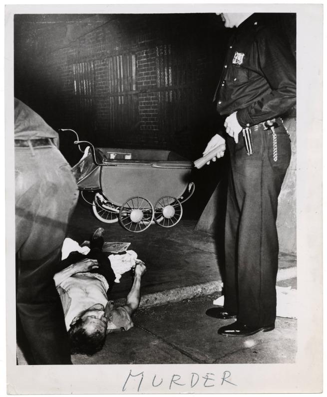 Weegee. 'Murder' c. 1940