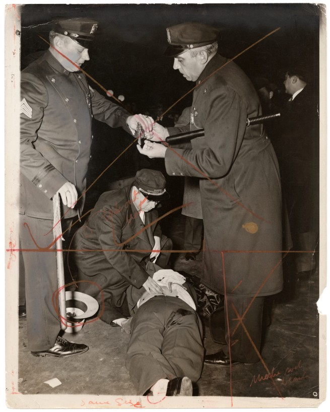 Weegee. 'Hold up man killed' November 24, 1941