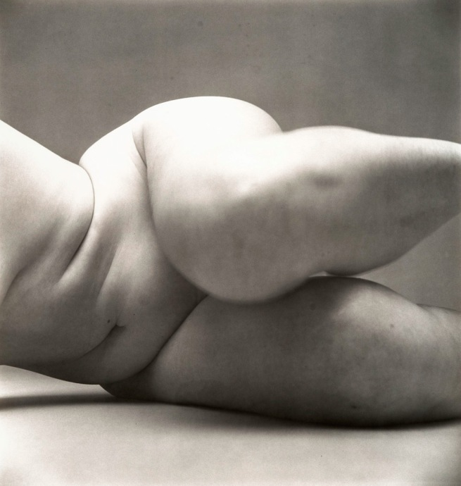 Irving Penn (American, Plainfield, New Jersey 1917 - 2009 New York City) 'Nude No. 57' 1949-50
