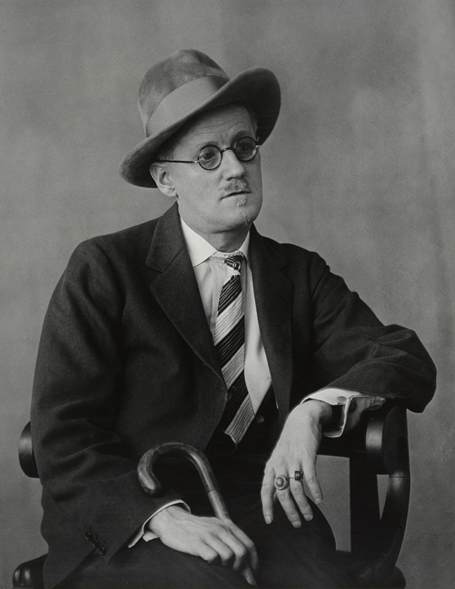 Berenice Abbott (American, 1898-1991) 'James Joyce' 1928