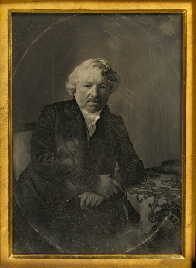Charles Richard Meade (American, 1826-1858) 'Portrait of Louis-Jacques-Mandé Daguerre' 1848