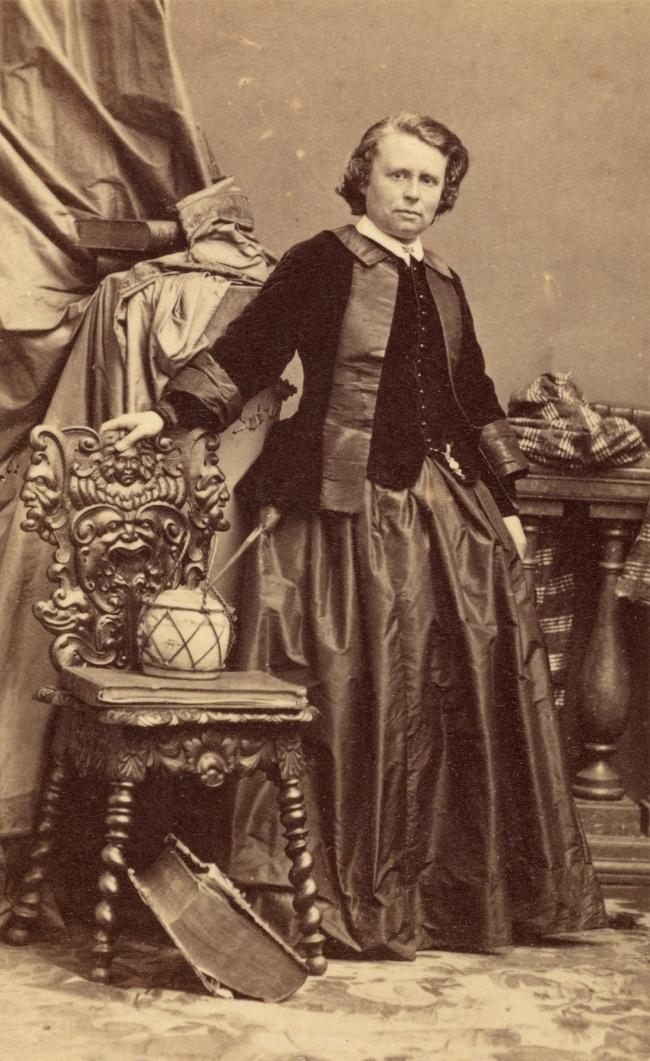 André Adolphe-Eugène Disdéri (French, 1819-1889) '[Rosa Bonheur]' 1861-1864