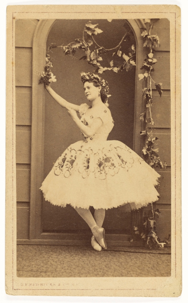Charles DeForest Fredricks (American, 1823-1894) '[Mlle Pepita]' 1863