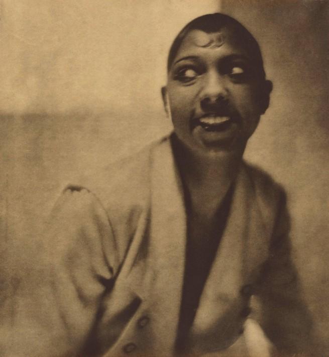 Baron Adolf De Meyer (American, born France, 1868-1946) 'Portrait of Josephine Baker' 1925