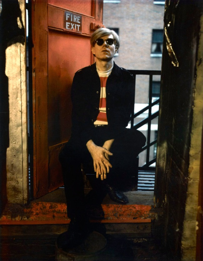 Marie Cosindas (American, born 1925) 'Andy Warhol' 1966