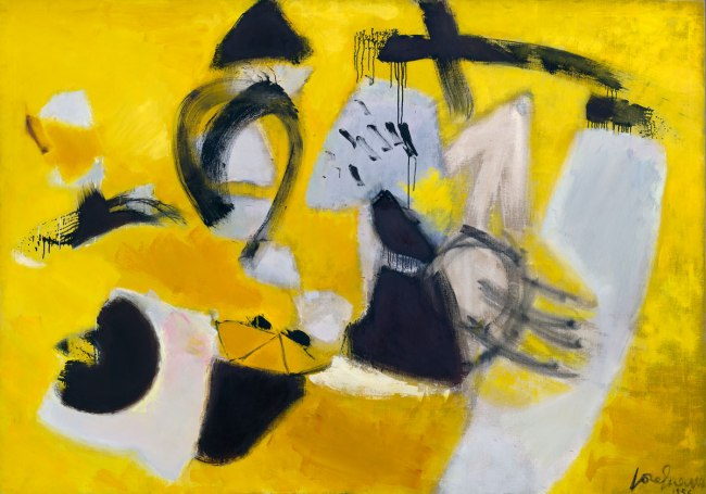 José Guerrero. 'Signs and Portents' 1956