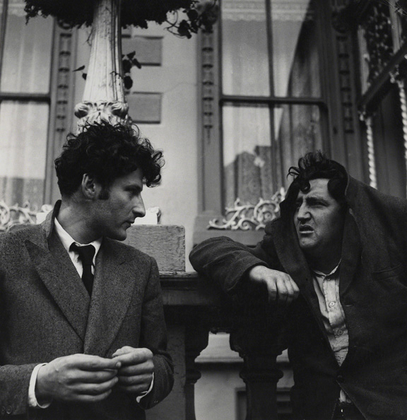 Daniel Farson. 'Lucian Freud and Brendan Behan' 1952