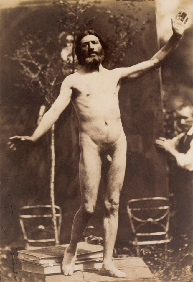 Charles Alphonse Marlé (French, 1821 - after 1867) 'Untitled [Standing Male Nude]' c. 1855