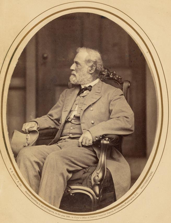 Mathew B. Brady (American, about 1823-1896) 'Robert E. Lee' 1865