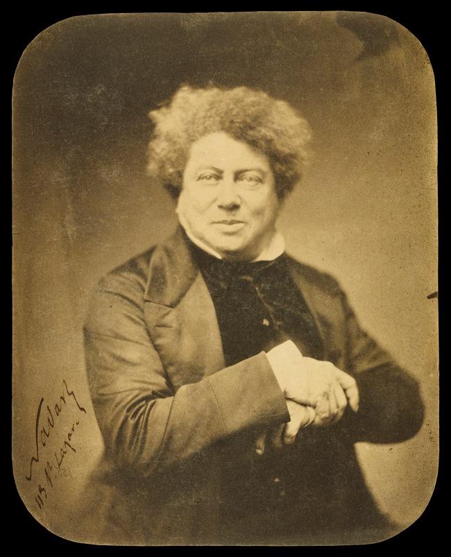 Nadar [Gaspard Félix Tournachon] (French, 1820-1910) 'Alexander Dumas [père] (1802-1870) / Alexandre Dumas' 1855