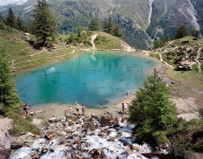 Nicolas Faure. 'Le Lac Bleu. Val d'Arolla (VS), August' 1997