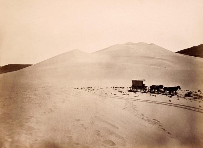 Timothy O'Sullivan, American (1842-1882) 'Sand Dunes, Carson Desert, Nevada' 1867