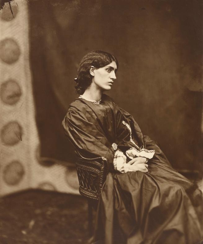 John Robert Parsons (British, about 1826-1909) '[Portrait of Jane Morris (Mrs. William Morris)]' Negative July 1865; print after 1900