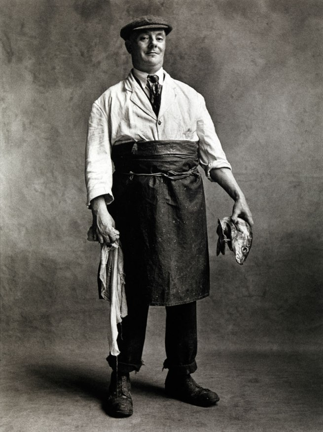 Irving Penn. 'Fishmonger, London, 1950' 1950
