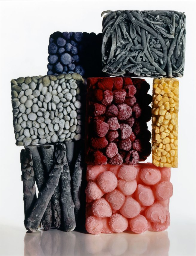 Irving Penn. 'Frozen Foods with String Beans, New York, 1977' 1977