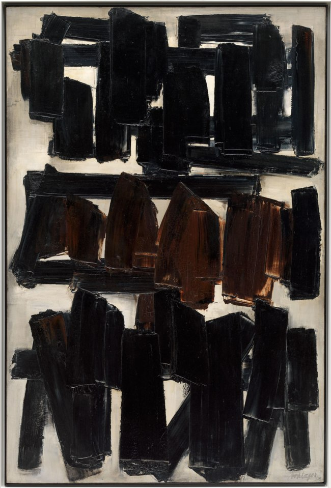 Pierre Soulages. 'Painting, November 20, 1956 (Peinture, 20 novembre 1956)' 1956