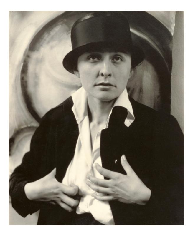 Alfred Stieglitz (American, 1964-1946) 'Georgia O'Keeffe: A Portrait' 1918