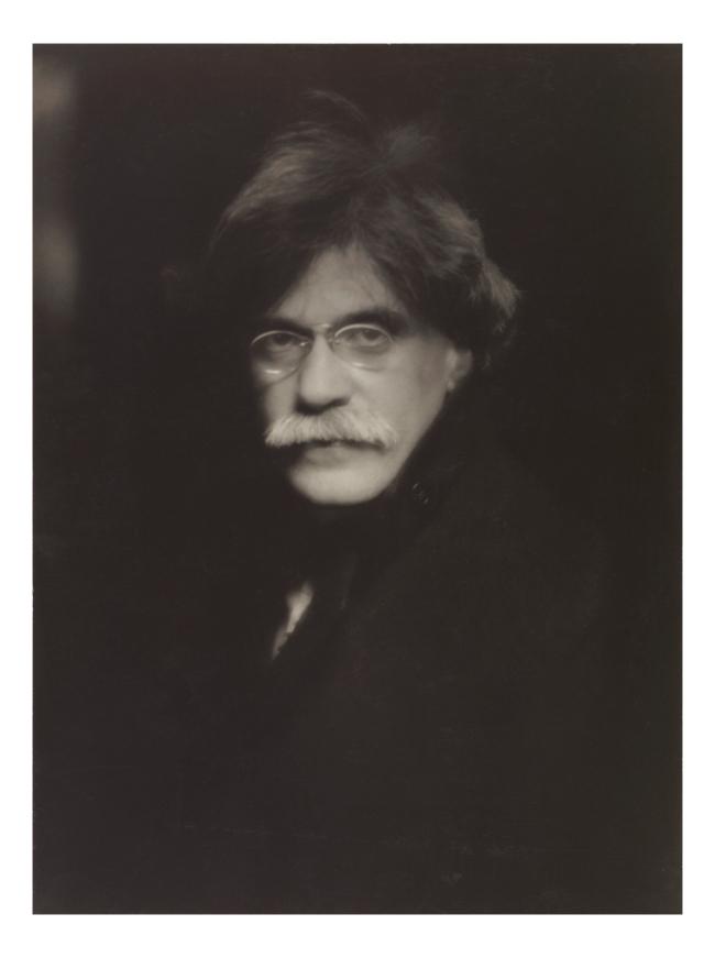 Alfred Stieglitz (American, 1864-1946) '[Self-Portrait]' Negative 1907; print 1930