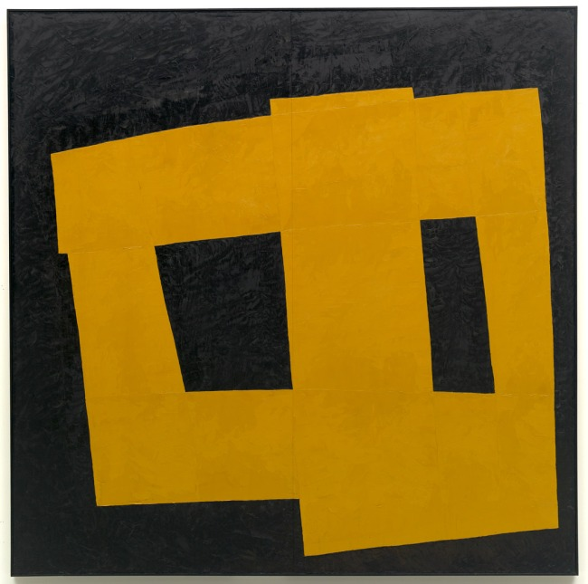 Takeo Yamaguchi. 'Work - Yellow (Unstable Square [Fuantei shikaku])' 1958