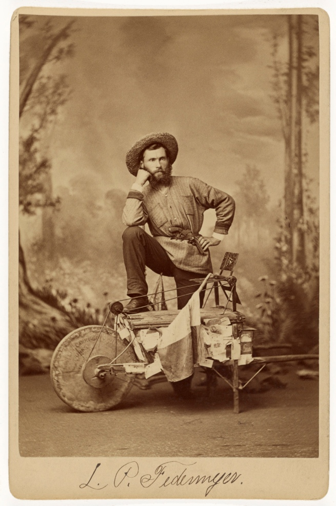 J. Wood (American, active New York, New York 1870s-1880s) 'L.P. Federmeyer' 1879