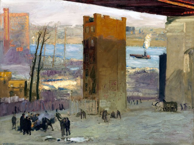 George Bellows. 'The Lone Tenement' 1909