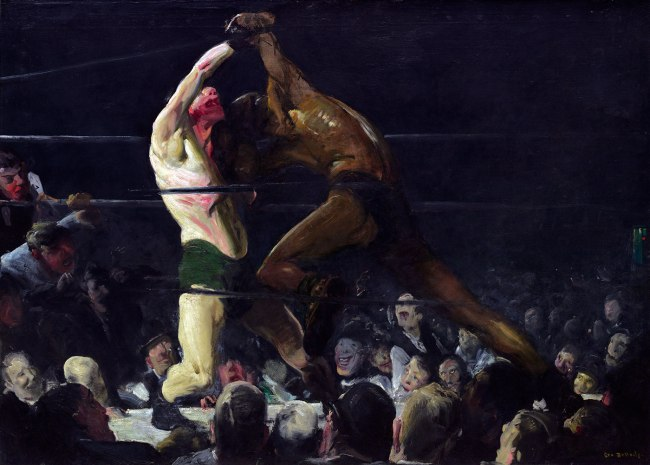 George Bellows. 'Both Members of This Club' 1909