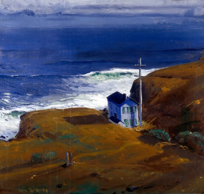 George Bellows. 'Shore House' 1911