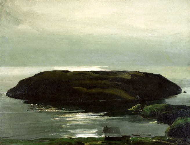 George Bellows. 'An Island in the Sea' 1911