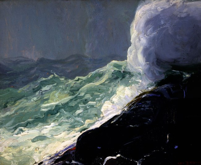 George Bellows. 'Churn and Break' 1913