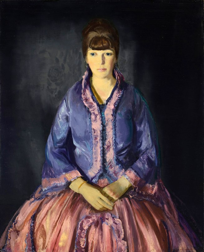 George Bellows. 'Emma in the Purple Dress' 1919