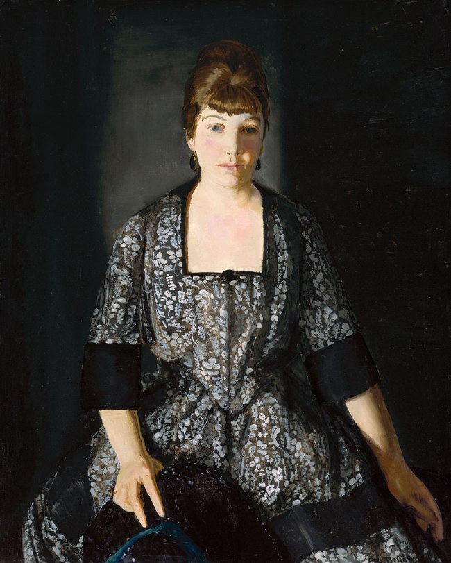 George Bellows. 'Emma in the Black Print' 1919