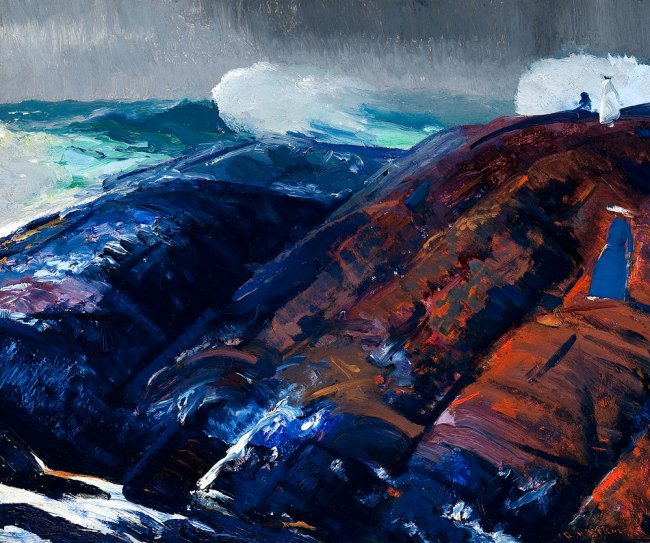George Bellows. 'Summer Surf' 1914