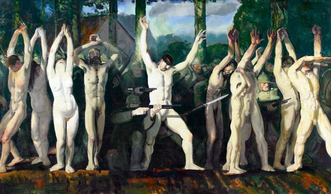 George Bellows. 'The Barricade' 1918
