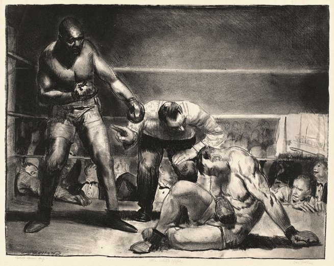 George Bellows. 'The White Hope' 1921