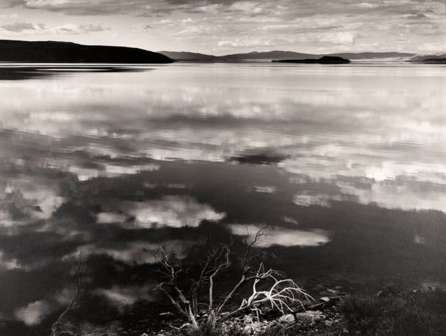 Ansel Adams. 'Reflections at Mono Lake, California' 1948