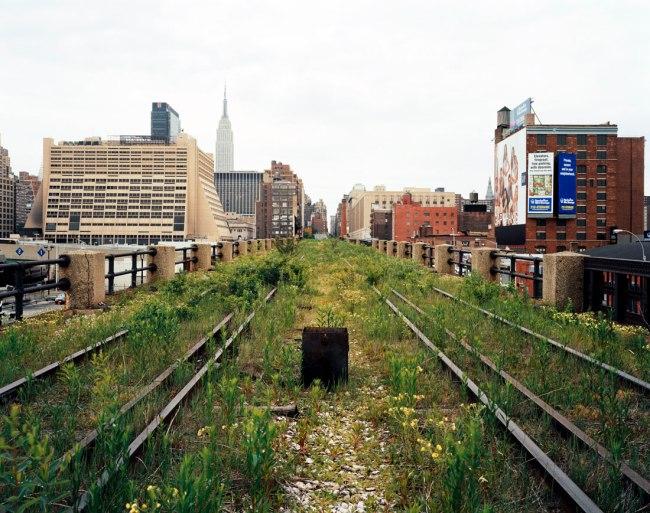 Joel Sternfeld. 'A Railroad Artifact, 30th Street, May 2000' 2000