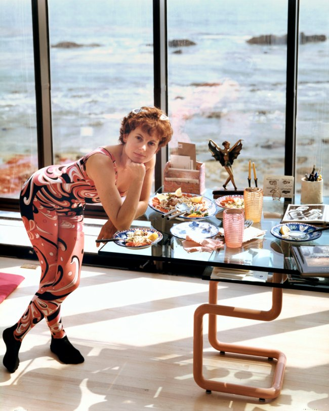 Joel Sternfeld. 'A Woman at Home in Malibu After Exercising, California, August 1988' 1988