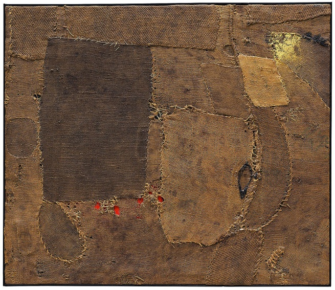 Alberto Burri (Italian, 1915-1995) 'Composition' 1953