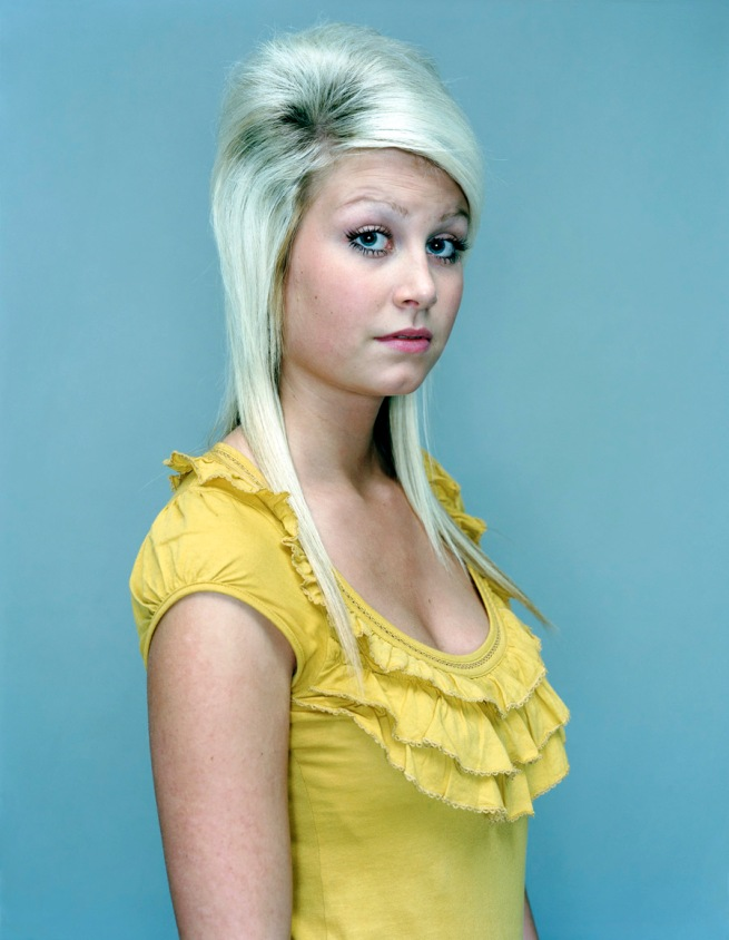 Rineke Dijkstra. 'Amy, The Krazyhouse, Liverpool, England, December 22, 2008' 2008