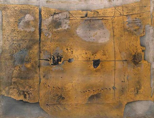 Antoni Tàpies (Spanish, 1923-2012) 'Great Painting' 1958