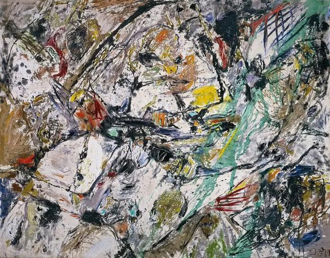 Asger Jorn. 'A Soul for Sale (Ausverkauf einer Seele)' 1958-59